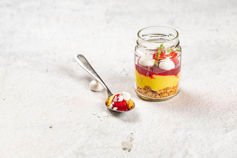 Lemon Curd im Glas