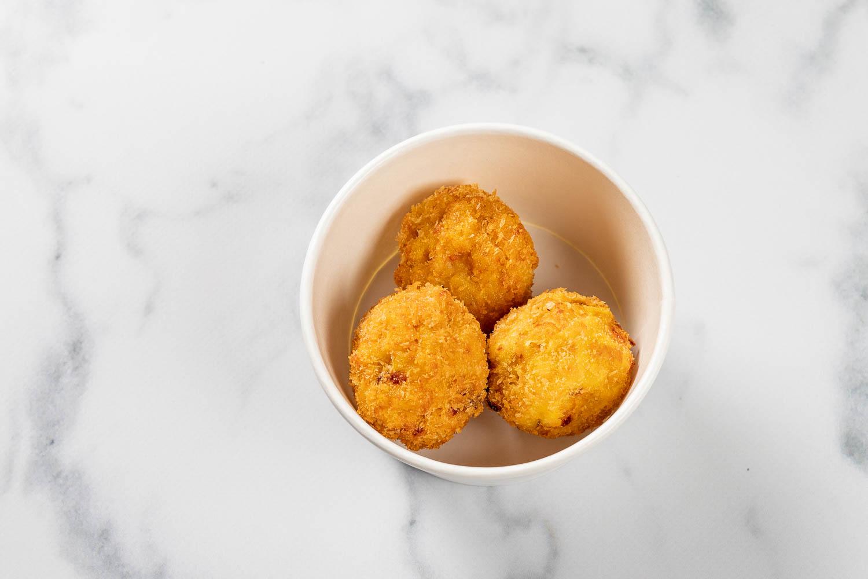 Mac No Cheese Balls